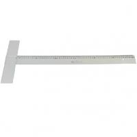 得力(deli) 8412有机丁字尺 93cm 透明
