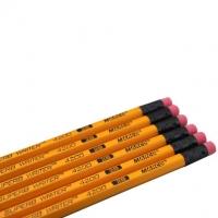 马可(MARCO) 4200E 2B-12支装黄色皮头高级书写铅笔