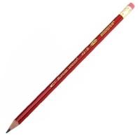 马可(MARCO) 4218E HB 六角红黑抽条皮头铅笔