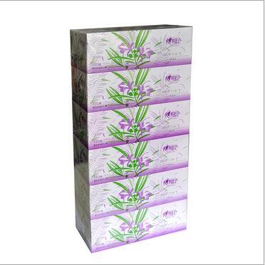 心相印120抽盒抽(特价)6个装