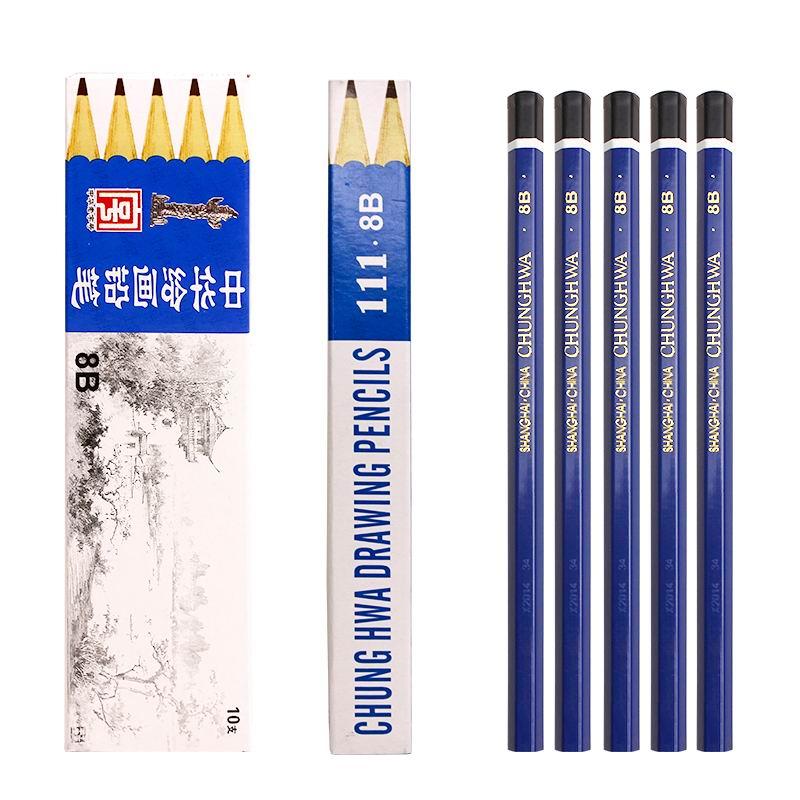 中华(CHUNG HWA) 8B绘图铅笔(上海)