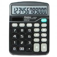 齐心(Comix) C-837H 中台超省钱经典计算器 12位 黑色