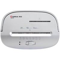 齐心(Comix) S2701 办公电动碎纸机 4×45mm/10张纸/21L/双入口/续航5分钟