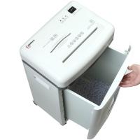 齐心(Comix) S350 防卡纸总监级高保密碎纸机(碎卡\碎光盘\4级保密\续航10min)