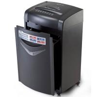 齐心(Comix) S525 超长续航全能高端办公碎纸机 (双入口双桶可碎卡\碎光盘\单次碎纸20张\25L容量)