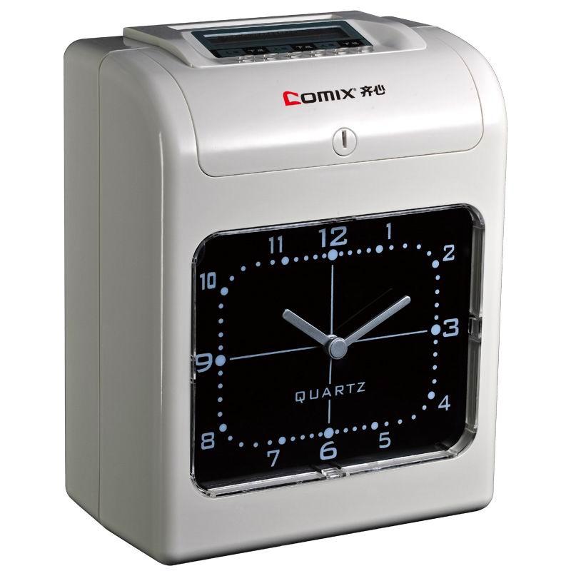 齐心(Comix) MT-6200 微电脑考勤机 色带双色停电可打卡