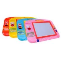 晶晶 TK909 早教益智儿童玩具 磁性画板 写字板 彩色画字板