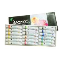 马利(Maries) 7318 18色水粉颜料 美术专用画材