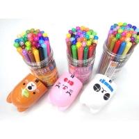 西瓜太郎 36色宠物瓶水性彩色笔 画笔