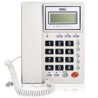 得力(deli) DL786 电话机 座机电话 来电显示(灰白)
