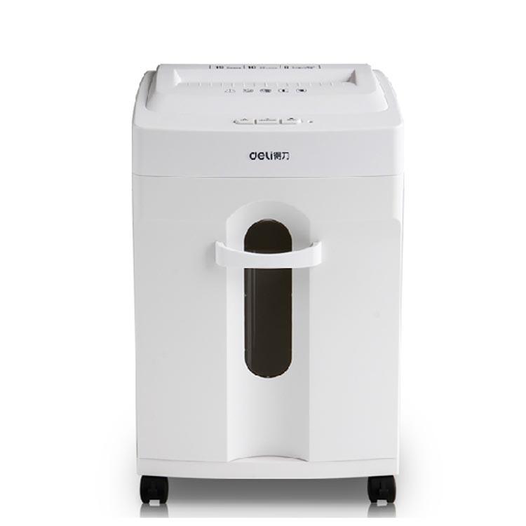 得力(deli) 9920 办公家用粉碎机 大功率静音碎纸机 多功能碎纸机 白色