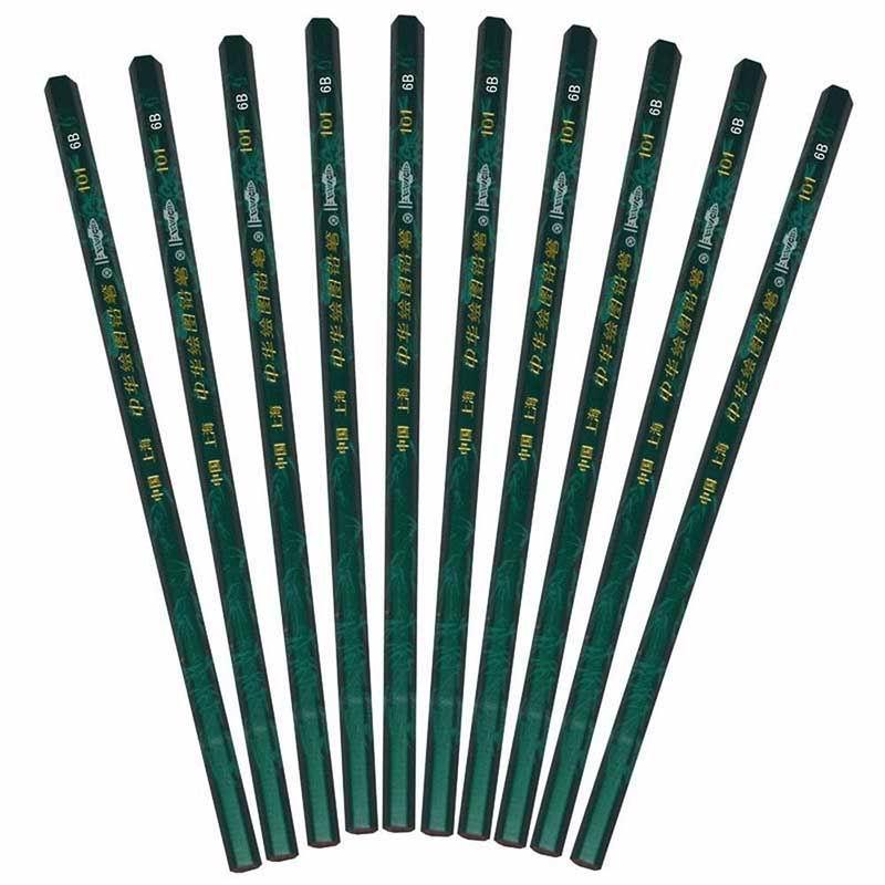 中华(CHUNG HWA) 6B 绘图铅笔(上海)