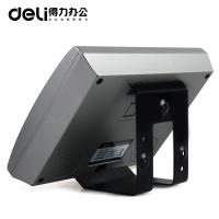 得力(deli) DL3749 人脸指纹式打卡机 面部人脸识别指纹机签到机 指纹膜考勤机