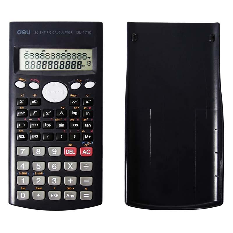 得力(deli) DL1710 科学函数计算器 多功能计算机 12位