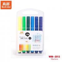 真彩o乐美(TrueColor) WM-2102-12-T 儿童绘画涂鸦笔套装彩...