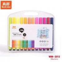 真彩o乐美(TrueColor) WM-2102-24-T 儿童绘画涂鸦笔套装彩...