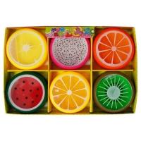 晶晶 TK7705 圆水果水晶泥 彩泥 6色 12个/盒