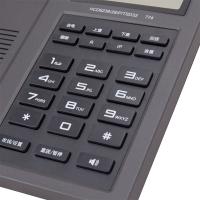 得力(deli) DL774 电话机 座机(金属灰)