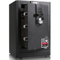 得力(deli) NO.4043 电子密码保险柜(黑)360mm*410mm*620mm