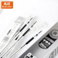 真彩·乐美(TrueColor) GR8219子弹头办公中性笔芯0.5mm 黑色