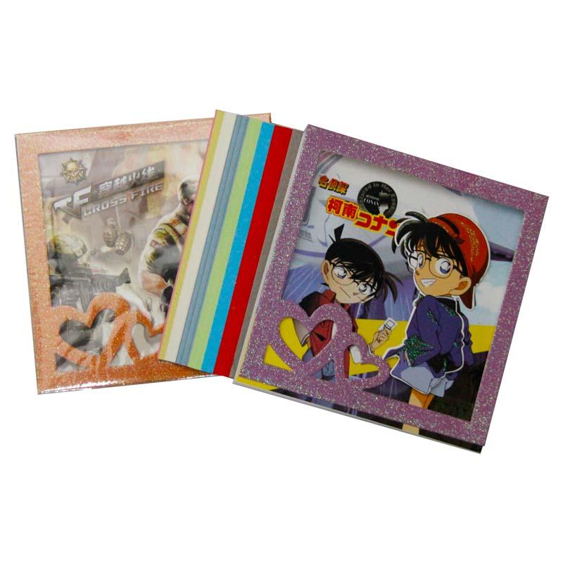 得力高(DELIGAO) 7760-B男版卡通世界折纸 100张 15×15cm