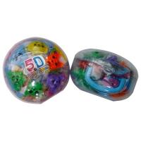 晶晶 TK361 5D彩泥 橡皮泥 12色