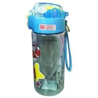 联众(UME) HW1209-1 450ml超级飞侠系列儿童直饮水杯 蓝色