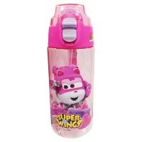 联众(UME) HW1209-2 450ml超级飞侠系列儿童直饮水杯 粉色