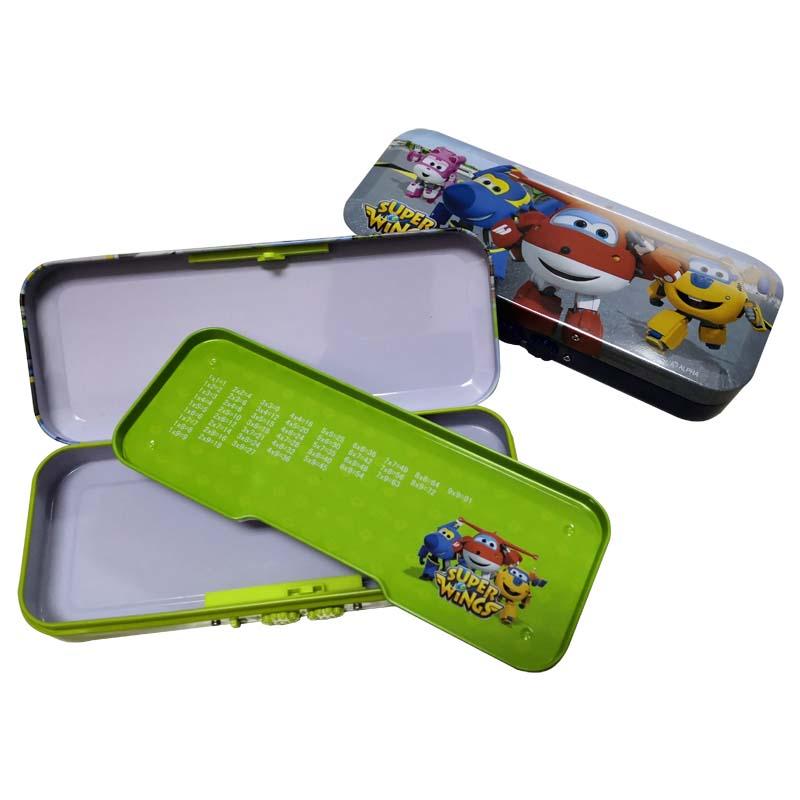 联众(UME) SW850055 铁笔盒 文具盒 带密码锁