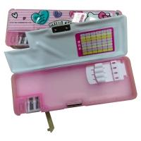 联众(UME) KT81002 立体造型塑料笔盒 文具盒